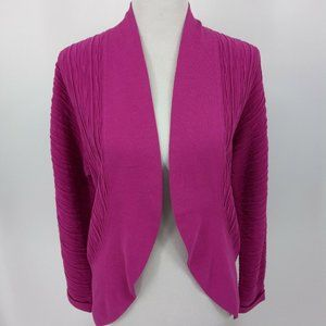 Lafayette 148 New York Small Cardigan Sweater Pink